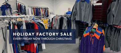 Boathouse Holiday Factory Sale 2018 – Open Every Friday Until Christmas