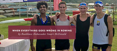 When Everything Goes Wrong In Rowing