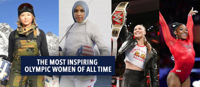 The Most Inspiring Olympic Women Of All Time