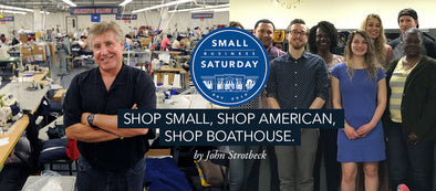 Shop Small, Shop American, Shop Boathouse