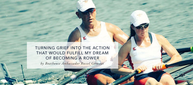 Turning Grief Into The Action That Would Fulfill My Dream Of Becoming A Rower
