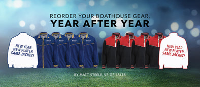 Reorder Your Boathouse Gear, Year After Year