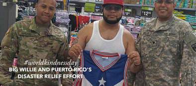 World Kindness Day: Big Willie And Puerto Rico's Disaster Relief Effort