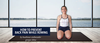 How To Prevent Back Pain While Rowing