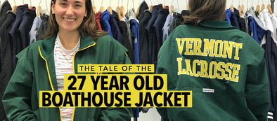 The Tale of the 27 Year Old Boathouse Jacket