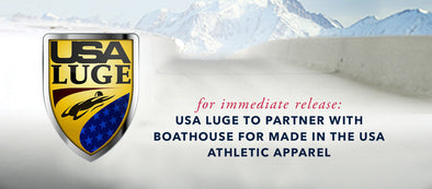 USA Luge to Partner with Boathouse for Made in the USA Athletic Apparel
