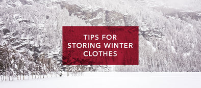 Tips for Storing Winter Clothes in the Off-Season