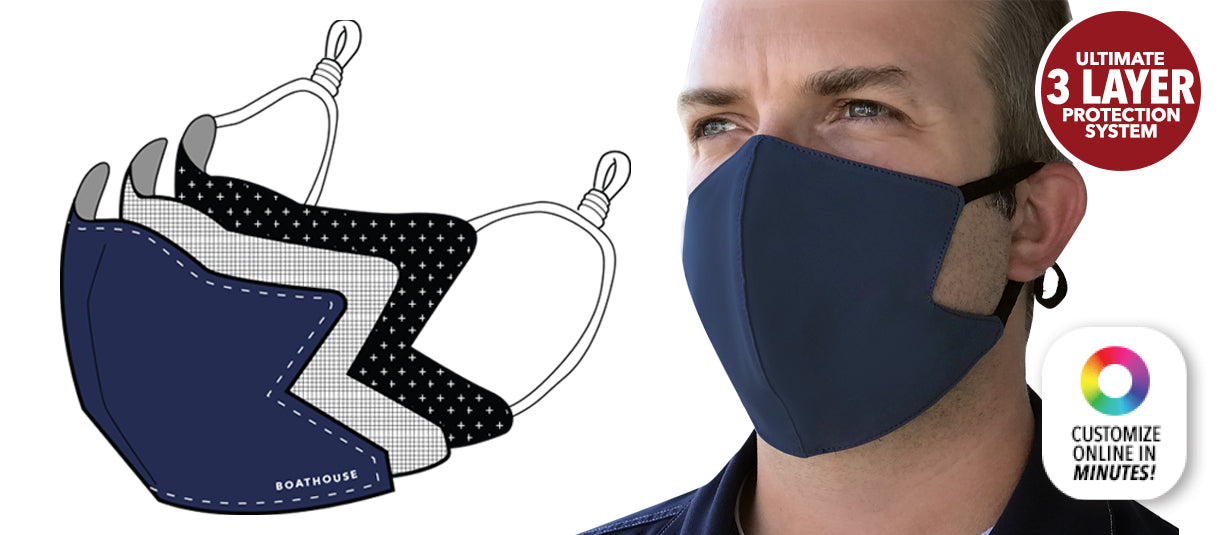 EX21 3-Layer Face Mask System