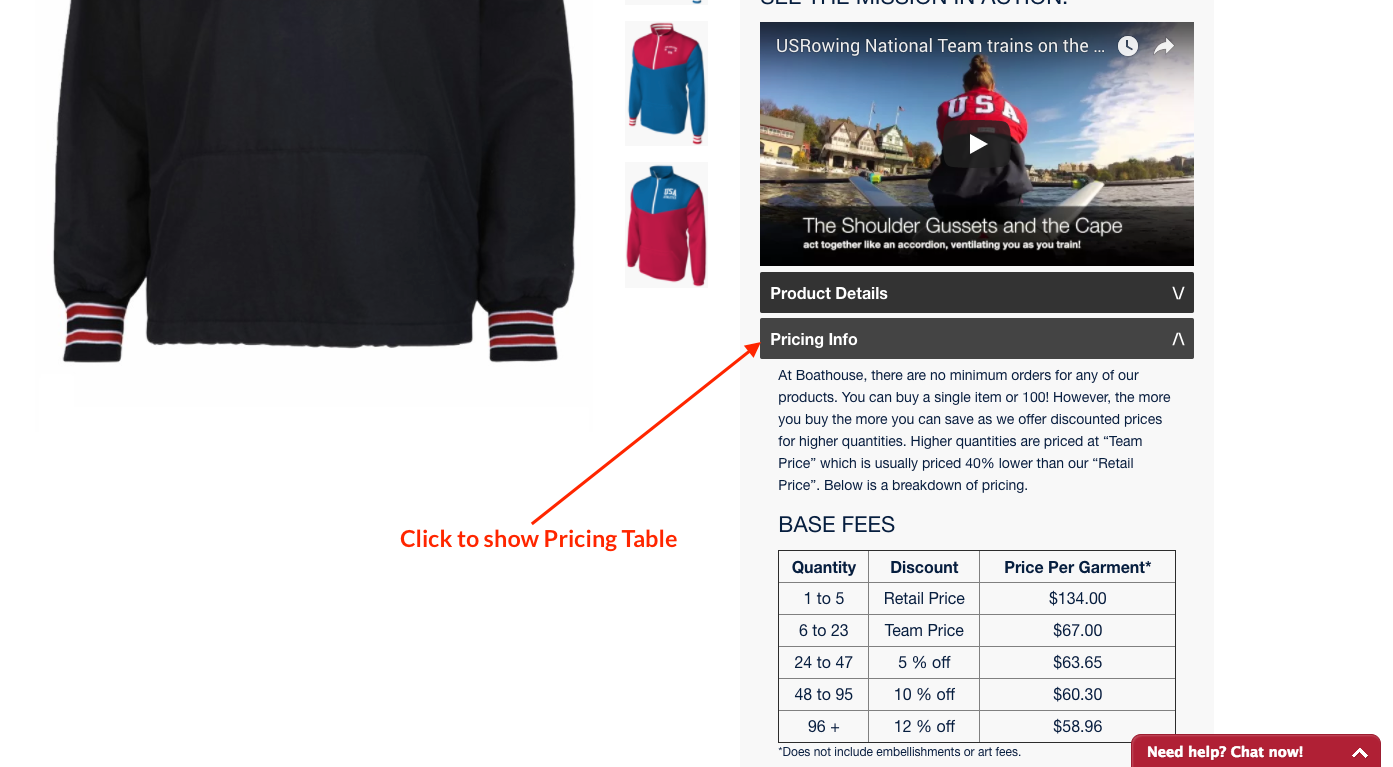 Pricing Structure for Custom Products | Knowledge Base