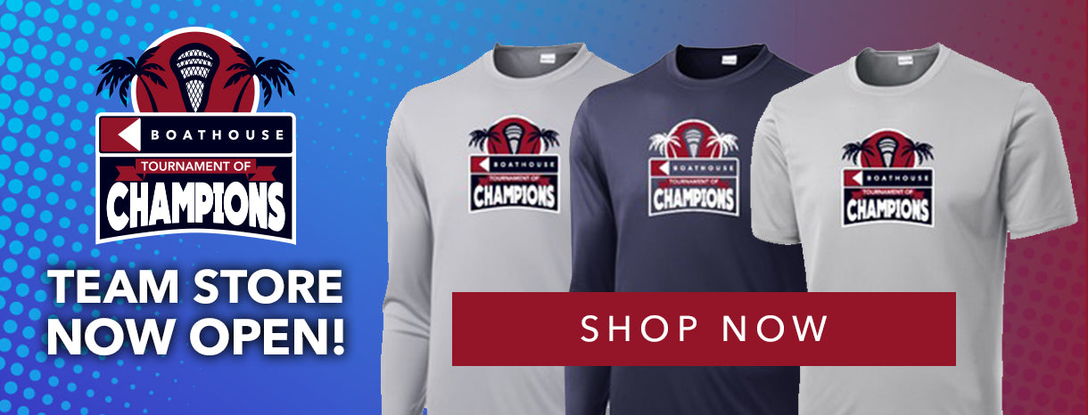 Shop the Boathouse Tournament of Champions Team Store