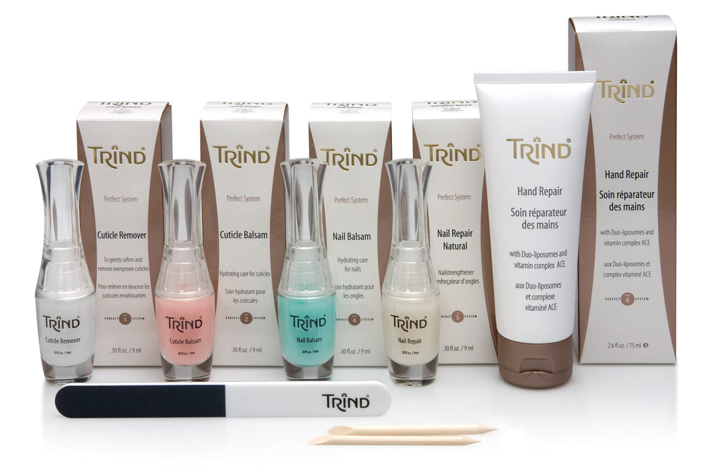Trind Insider Judith Explains the Trind Bare Manicure - Nude Nails