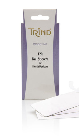Refill Nail Stickers for French Manicure Set