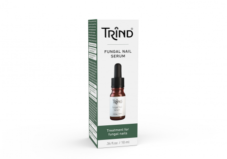 A serum on a 10 ML dropper bottle inside a box that penetrates the nail and helps to prevent the spread of the fungus within the nail and to other nails. It contains hydrolyzed keratin which restores, rebuilds and strengthens the structure of the renewed or non-affected nail.