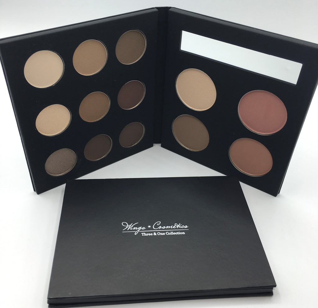 Wings Cosmetics Pallet - Nude Kit