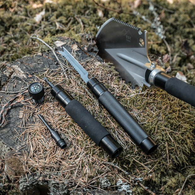 Survival Tools EST Gear Survival Shovel