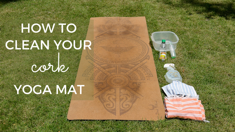 How To Clean Your Cork Yoga Mat
