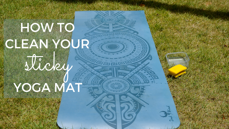 How To Clean Your Sticky Yoga Mat