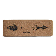 Twin Arrow Cork Yoga Block