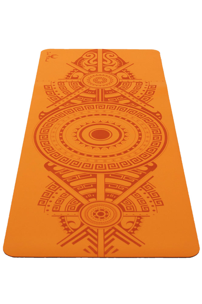 Sticky Yoga Mat - Purrfect Pumpkin