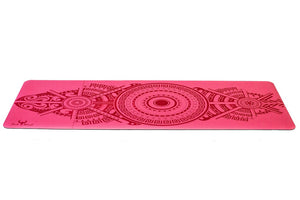Sticky Yoga Mat - Flamingo Pink