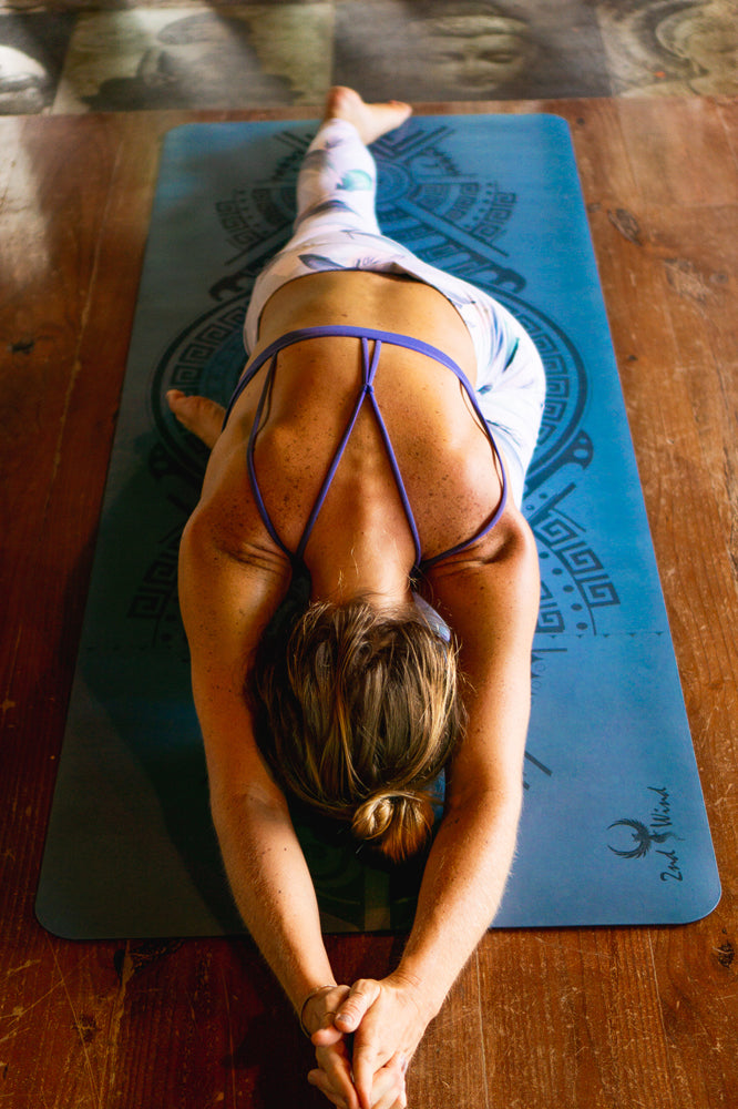Sticky Yoga Mat - Caribbean Blue