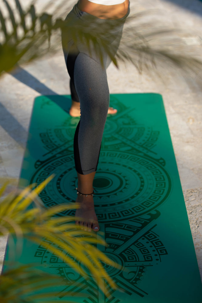Sticky Yoga Mat - Emerald Green