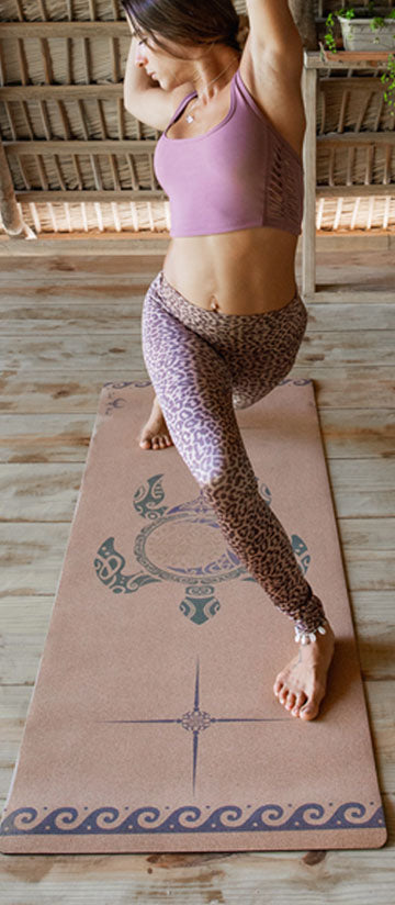 Turtle Cork Yoga Mat