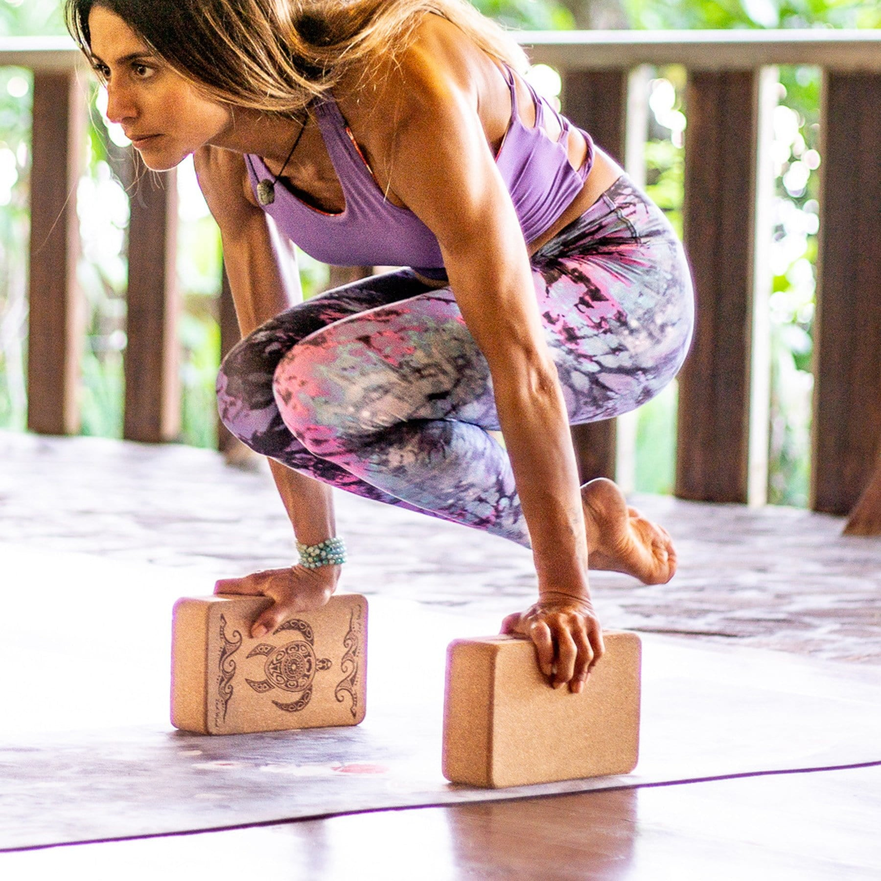 Turtle Cork Yoga Block