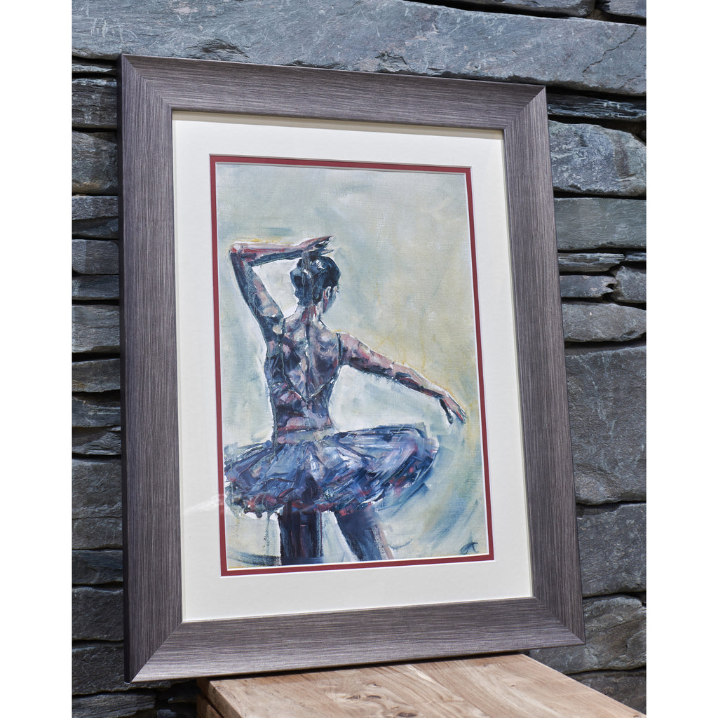 Ballet Practice 02 - An Original Oil Painting