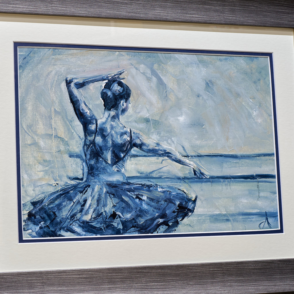 Ballet Practice - An Original Oil Painting