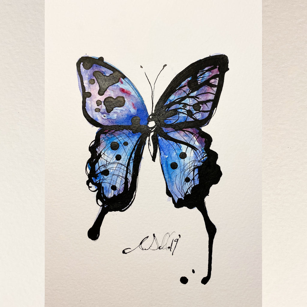 Butterfly - An Original Watercolour Painting