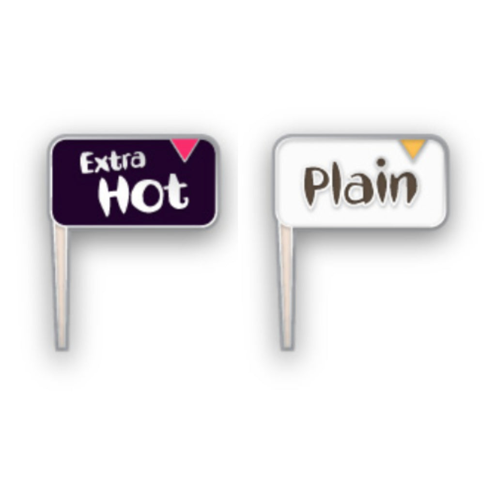 Extra Hot and Plain Friendship Pins