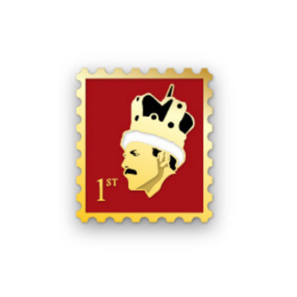 Freddie Mercury Stamp Pin
