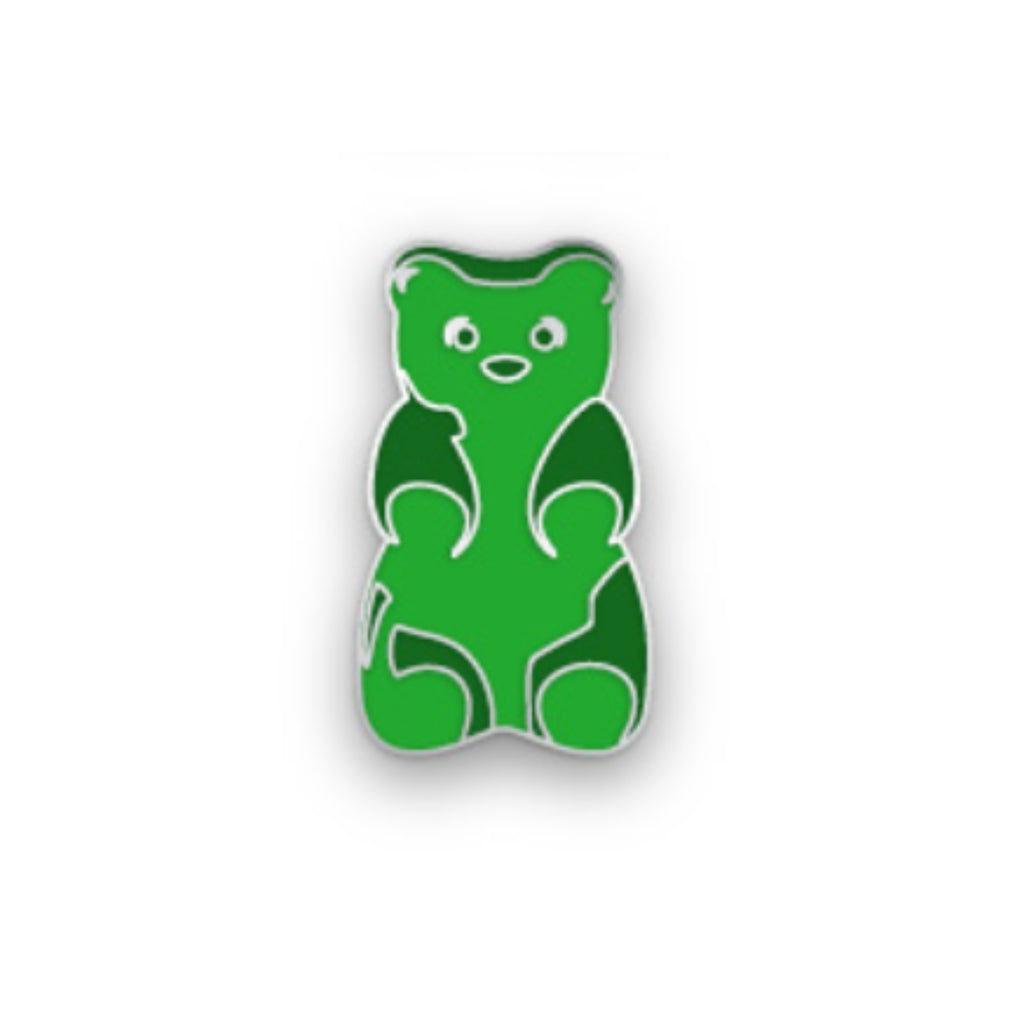 Green Gummy Bear Pin