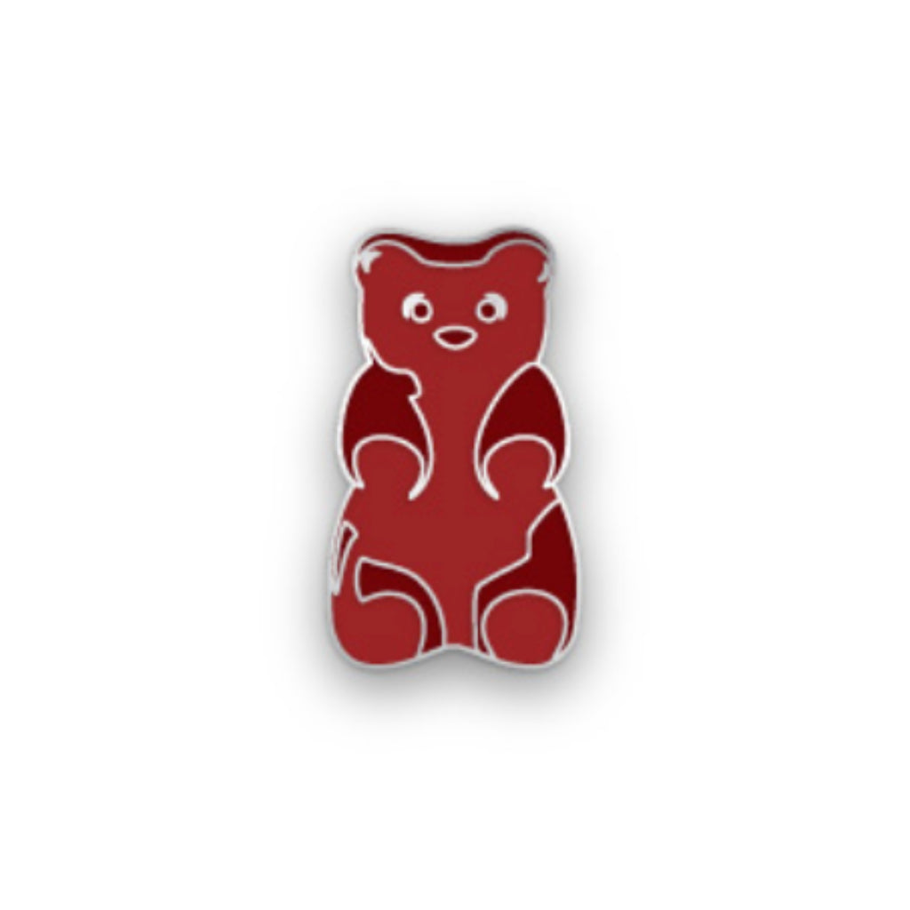 Red Gummy Bear Pin