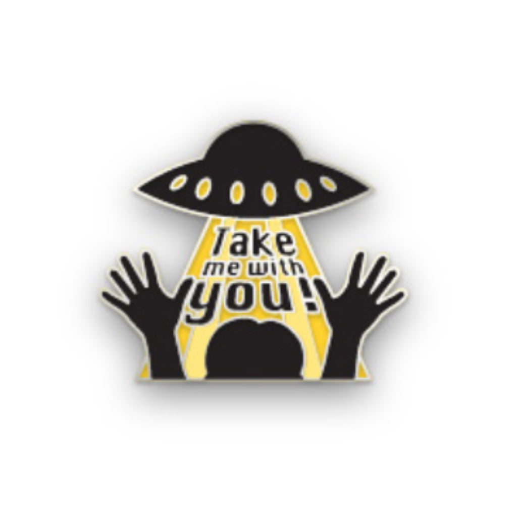 Take Me With You Pin