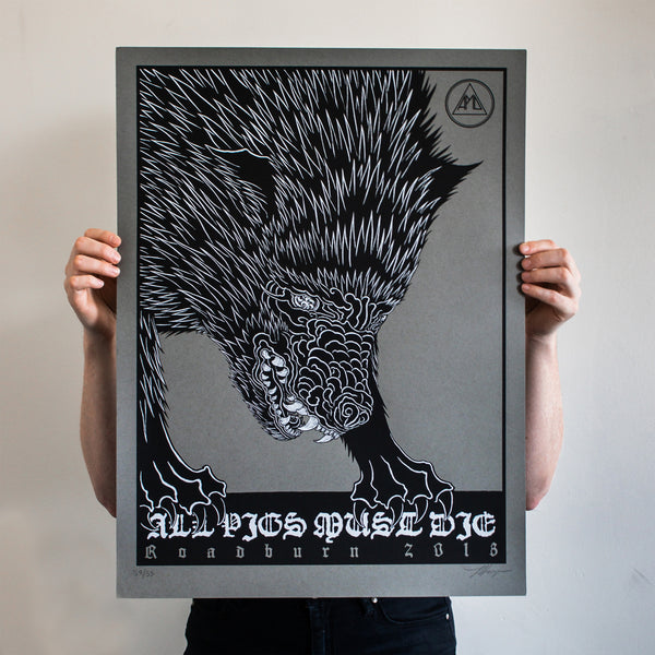 "Thomas Hooper ""APMD Roadburn 2018"" Silkscreened Print"
