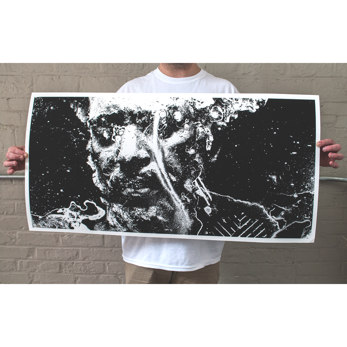"J. Bannon ""01: A Single Tear"" Giclee Print"