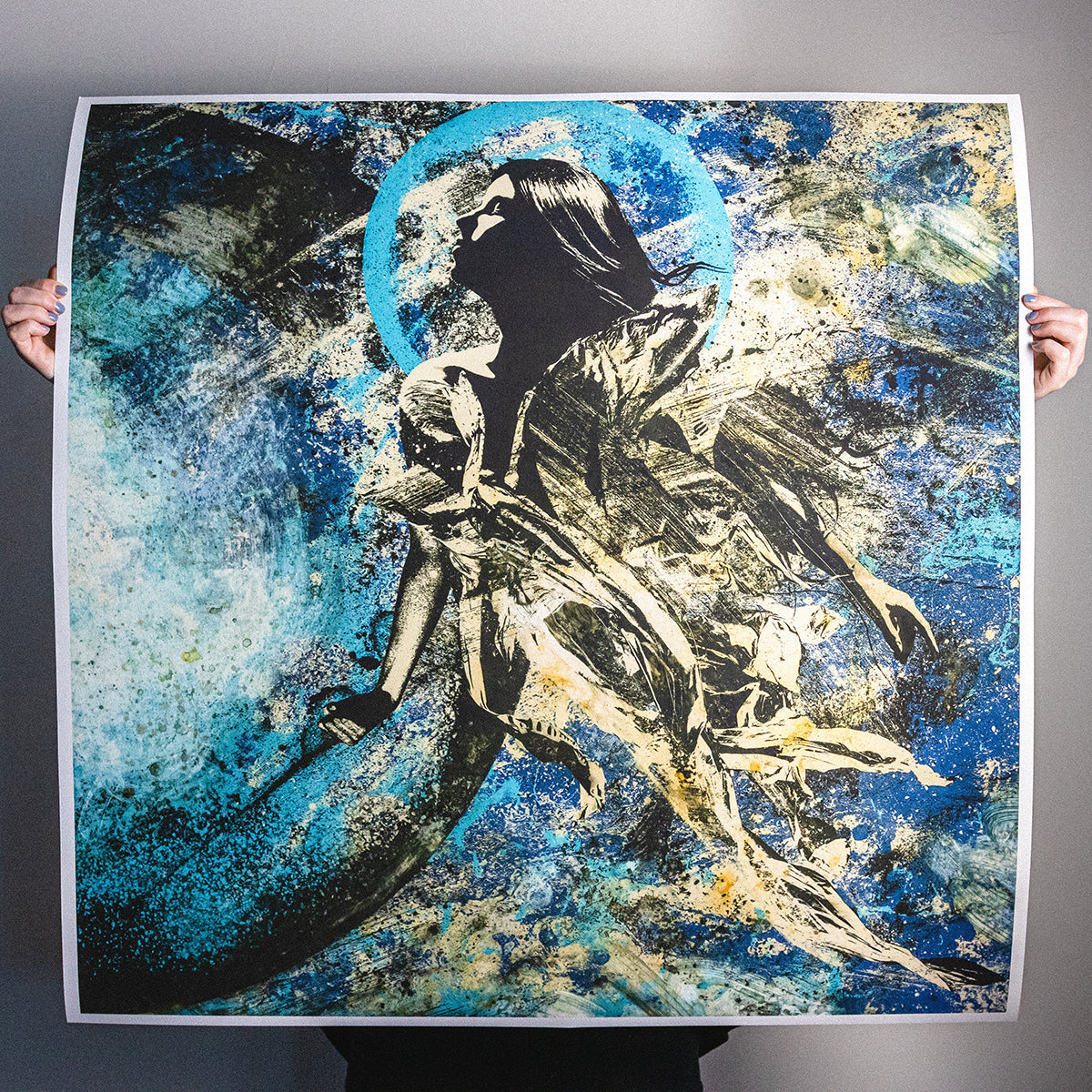 "J. Bannon ""The Boundless Black: Ghost"" Limited Print"