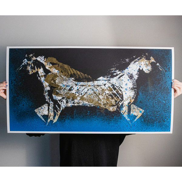 "J. Bannon ""Dark Horse: Alternate"" Limited Print"