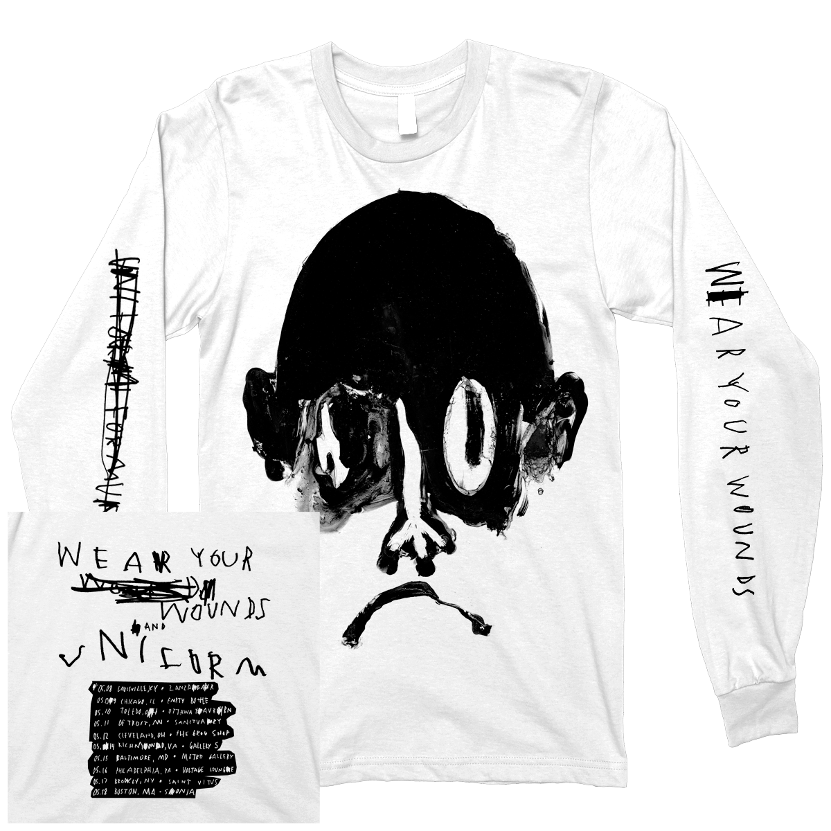 "Wear Your Wounds x Uniform ""Draxler"" Longsleeve"