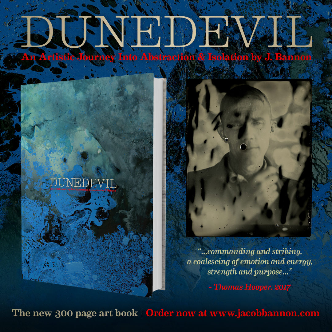 "J. Bannon ""Dunedevil"" 300 Page Art Book: First Edition"