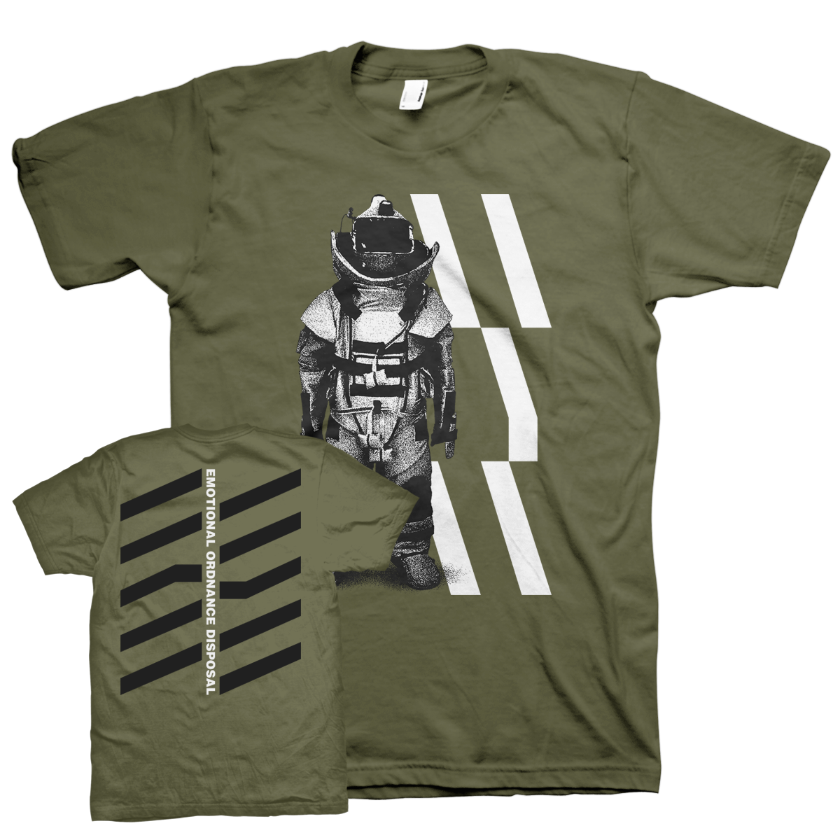 "Wear Your Wounds ""Emotional Ordnance Disposal"" T-Shirt"