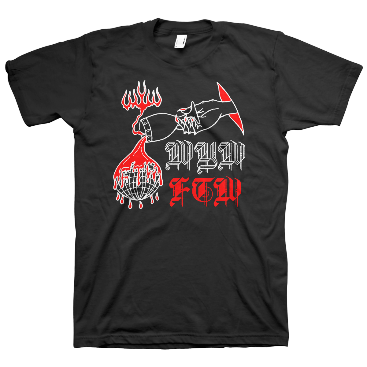 "Wear Your Wounds ""WYW FTW"" T-Shirt"