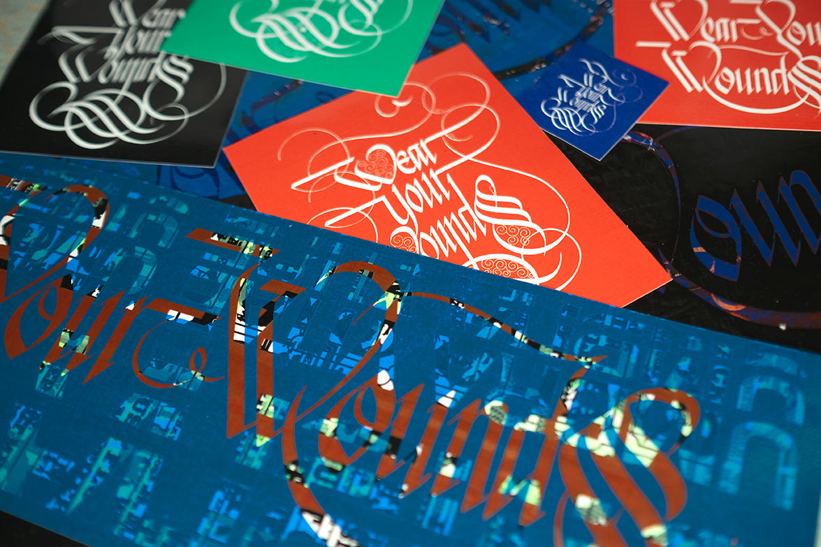 Wear Your Wounds Vinyl Sticker Pack
