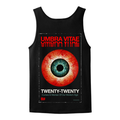 "Umbra Vitae ""Twenty-Twenty"" Black Tank Top"