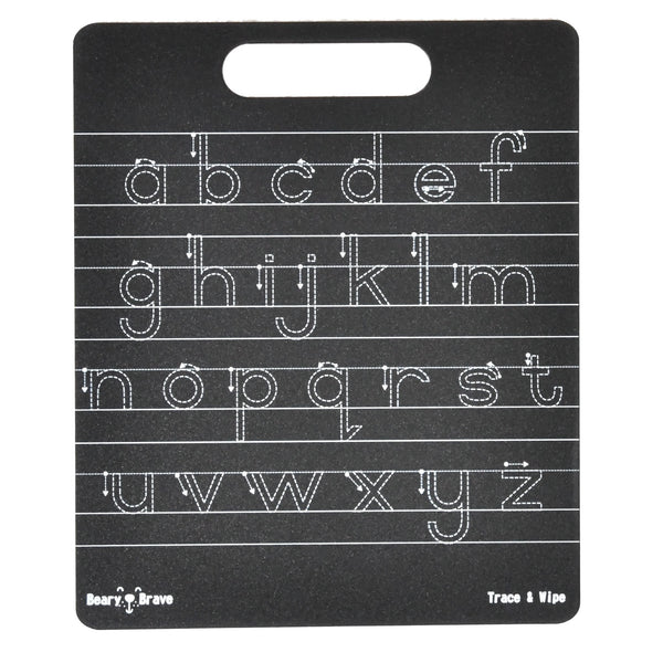 Trace & Wipe: Alphabet Lower Case