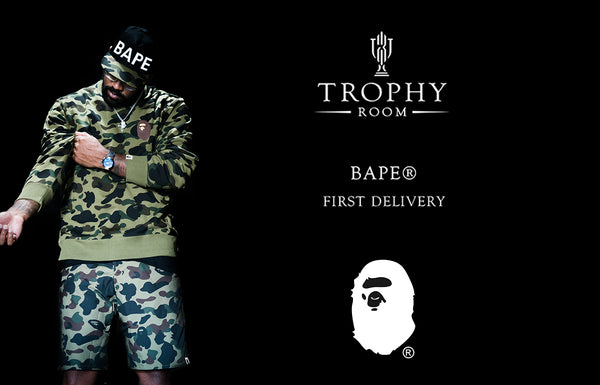 BAPE®: FIRST DELIVERY