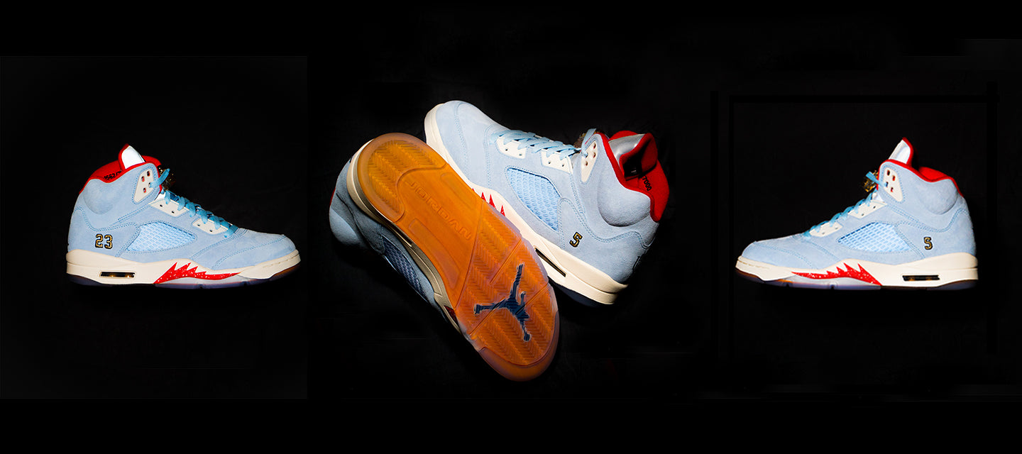 competitive price c3e8f 82f5b TROPHY ROOM™ X AIR JORDAN 5 RETRO.