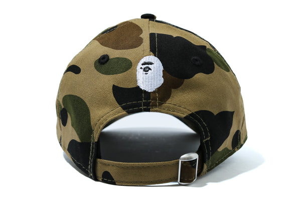 1ST CAMO BAPE STA NEW ERA PANEL CAP